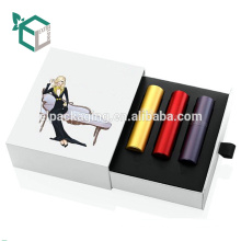 Kunst-Papierkosmetik-Kasten-Dreieck mit Pvc-Verpackung