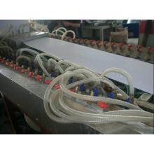 Linha da extrusão do painel de parede do PVC / que faz a máquina