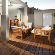 Cumaru Wood Decking Terrace Suelo de madera