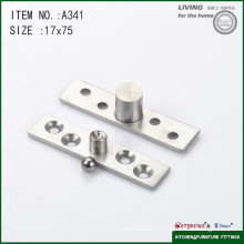 304 stainless steel central axis heavy duty door pivot hinge A341 75*17