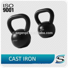 Ventas calientes de hierro custom kettlebell