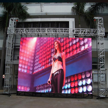 Slim lightweight Outdoor Rental LED Display for advertising
