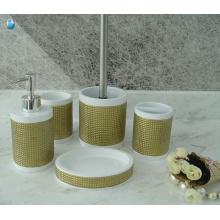 Fabrik Großhandel benutzerdefinierte billige Badeset 5 Stück Bad Zubehör
