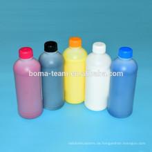 Weißes Textildruckfarben-Nachfüllset für Epson F2000 für Baumwollgewebe