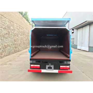 Side loader garbage truck with capacity 6 tons