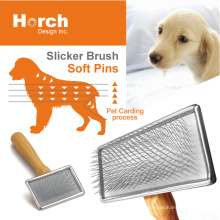 Taiwan Brand Healthy Safety Hair Ball Remove Stainless Dog Brush
