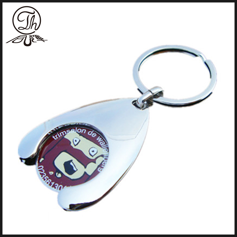 Custom Trolley tokens coin keyrings