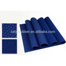 custom made rubber yoga mats, super anti slip hot yoga mat