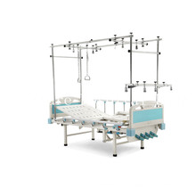 Four-Cranks Straddle Lift Manual Orthopedics Traction Bed