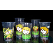 Customized Disposable Pet Cups for Juice