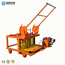 Small cement hollow block maker brick molding machine equipment and prices