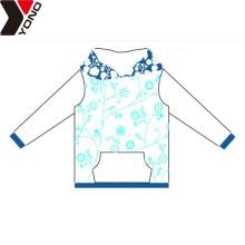 Sudaderas con capucha de algodón en blanco colorido OEM / ODM