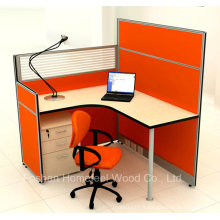 Hot Sales Office Cubicle Single Staff Partition Workstation (HF-YZM026)