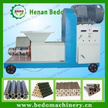 New technology high efficiency biomass briquette press machine/wood briquette extruder machine