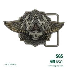 Kundenspezifische Zink-Legierung Material 3D Logo Gürtelschnalle