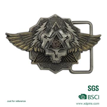 Customized Zinc Alloy Material 3D Logo Belt Buckle