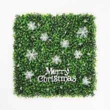 Hermoso DIY personalizado decoración de navidad seto para festivo