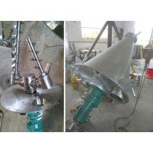 Misturador cônico de duplo parafuso da série de DSH de 2017, secador cônico dos SS, misturador horizontal da alimentação da vaca
