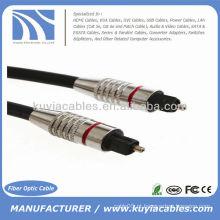10ft Cabo de fibra óptica de áudio digital 7.0mm 3m