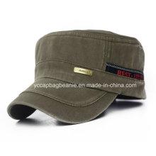 Chapéu militar de Cottoncanvas, tampão militar