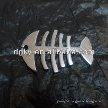 fish bone charms Stainless Steel Pendant
