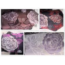 Tecido jacquard de chenille para decoração de tecidos domésticos