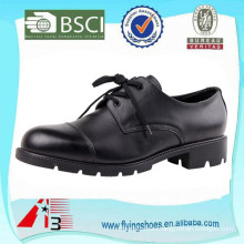 genuine leather dress officer police shoes