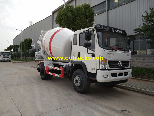 Concrete Mixing Trucks