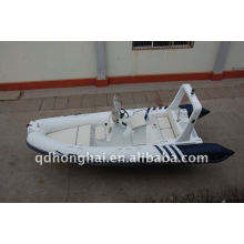 CE RIB520 inflatable boats luxury yacht with cabin outboard motor