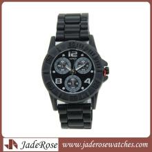 Relógio de alta qualidade e liga impermeável para homem