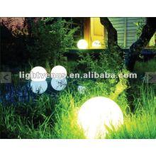 Luz iluminada ao ar livre da esfera do jardim de 30cm