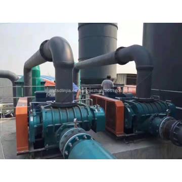 Soplador de raíces para tratamiento de aguas residuales bioquímicas