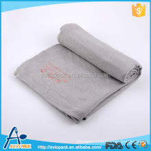 Top quality gray anti pilling modacrylic blanket for airline