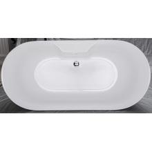 Neue italienische Design Acryl freistehende Badewanne