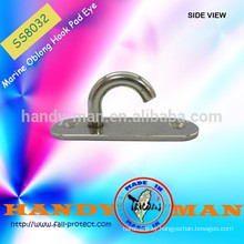 Marine Oblong Hook Pad Eye