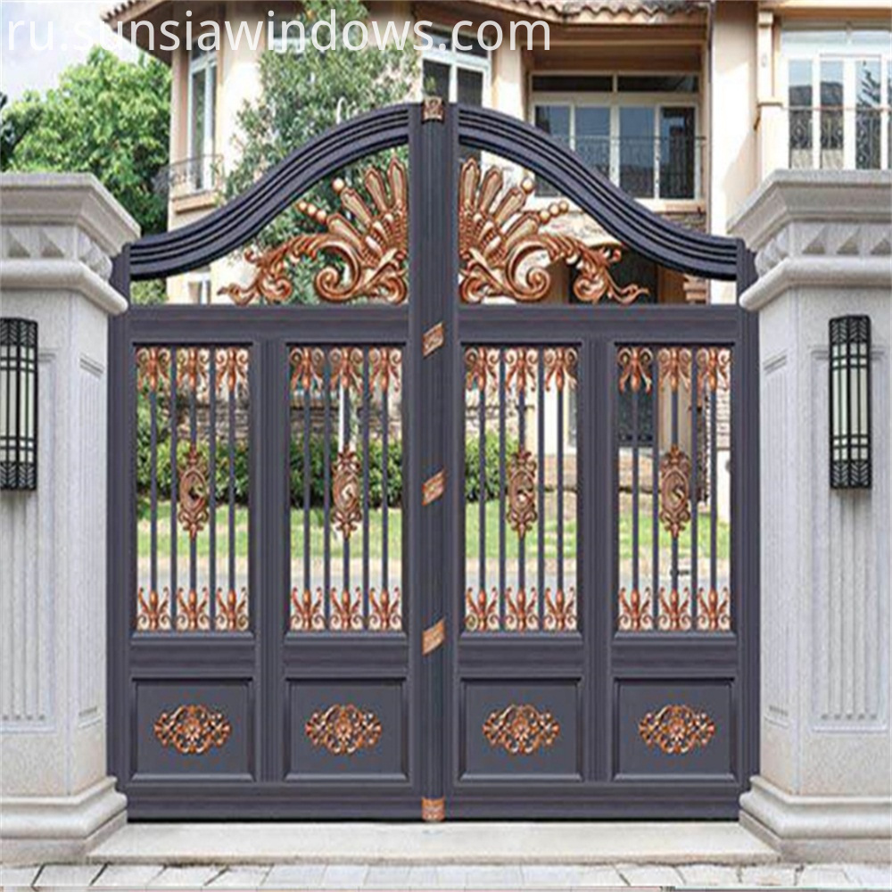 Ornamental Decorative Aluminum Gates
