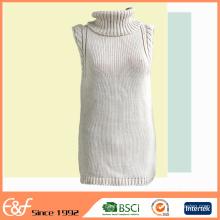 Nueva llegada Custom Fashion Sweater sin mangas