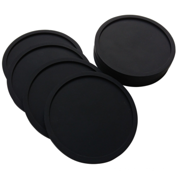 Custom logo silicon rubber coaster holder for cup
