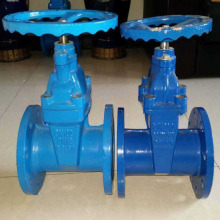 Direct buried soft seal gate valve