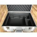Caja de herramientas de aluminio con incrustación de esponja de espuma