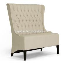 Wooden high back fabric wedding sofa XY0382