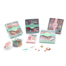 office stationery and office supplies product set