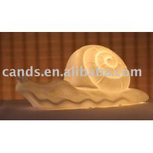 Lámpara de mesa de noche decorativa de cerámica de la porcelana
