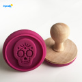 Gamme Basics Le couteau le plus simple Skull Cookies Cutter / Stampers