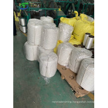 Factory Price 3 Strand White Polyester/Nylon/PA/Plastic/Sythetic/Marine/Cargo/Packing/Lifting/Twist/Twisted Mooring Rope