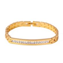 71311 xuping nouveau mode 18 carats plaqué or bracelet femme
