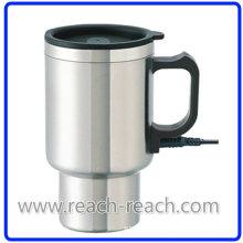 Electric Auto Mug Car Mug with Handle (R-E001)