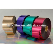 Metallisierte PET-Folie / Garn-Folie / Aluminiumfolie