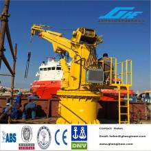 Grue Quay Hydraulique Télescopique ou Articulée