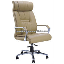 H836A new design leather high back chair